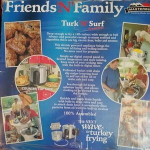 Electric Turkey and surf fryer